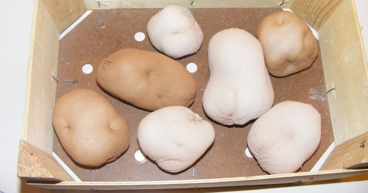 Die Bommelfrau: Kartoffeln für den Kaufladen