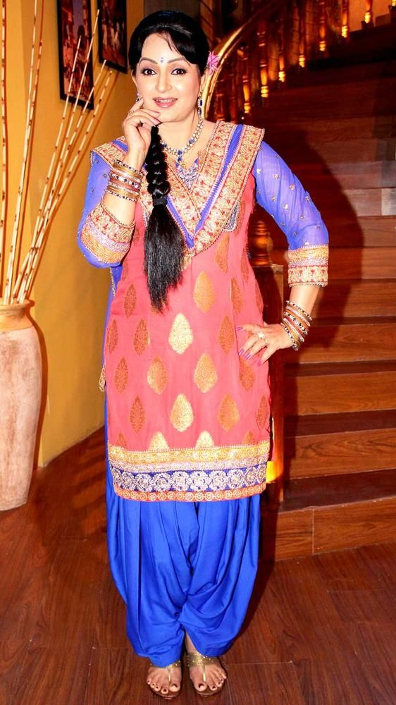 Upasana Singh at the launch of 'Comedy Nights with Kapil' #Bollywood #Fashion