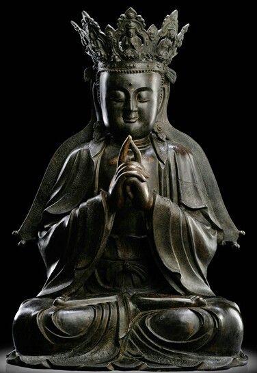 Ming Buddha Bronze