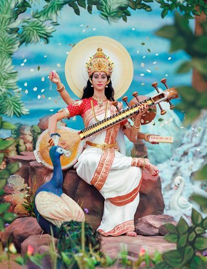 SARASWATI PUJA is also called Ayudha Puja conducted in many parts of South India on the Mahanavami or the Ninth day. The final three Navaratri days are devoted to Saraswati Maa. The 10th day would be Vijaya Dasami. Saraswati literally means..