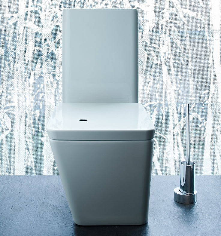 The Il Bagno Alessi Dot toilet will add some serious designer style