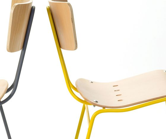 Roebuck chair by Ernest Race reissued by Race Furniture