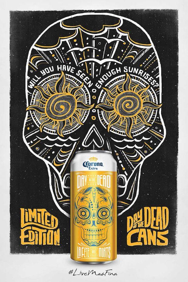 Cerveza Corona lanza una edición limitada para celebrar el 'Día de los muertos'