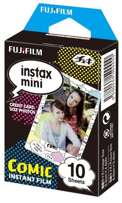 Instax mini film comic