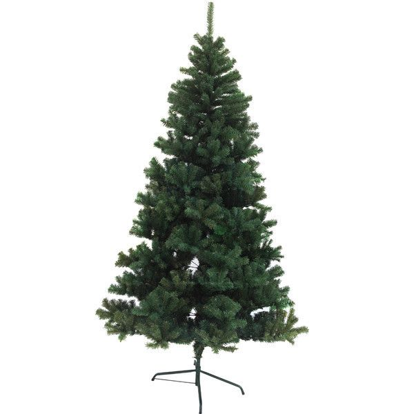 Holiday Essence V/1778 7FT 1500 Tips Green Metal Base Canadian Pine Unlit Christmas Tree