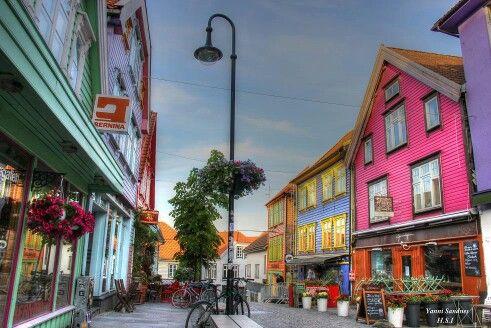 Stavanger Norway facebook: Fargegaten