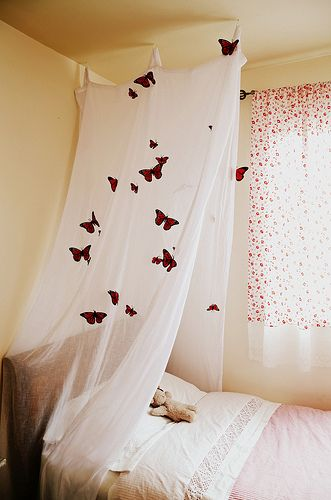 can add butterflies to the mix with the stars and candles or would that be too much?!