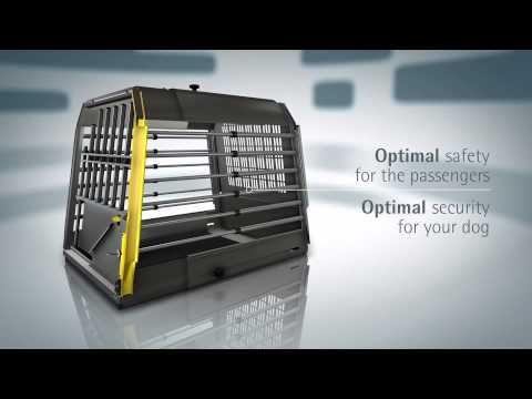 MIM Safe Variocage - Crash Tested Dog Transport Cage - available in Australia from Blackhound Enterprises