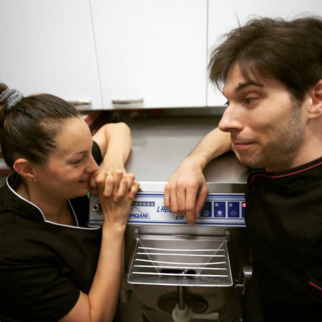 #teamrocket #go! #abbiamopokemon #brother #sister #gelateriarcobalenoroverchiaraverona #roverchiara #verona #gelato #icecream #helado #23anniconvoi #brotherhood