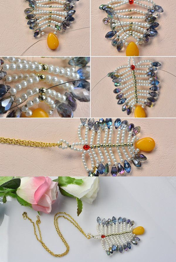 439 best Beaded Flowers and Leaves images on Pinterest | Seed ...