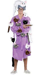 Los hombres también se disfrazan de loca de los gatos | Foto: christy.es