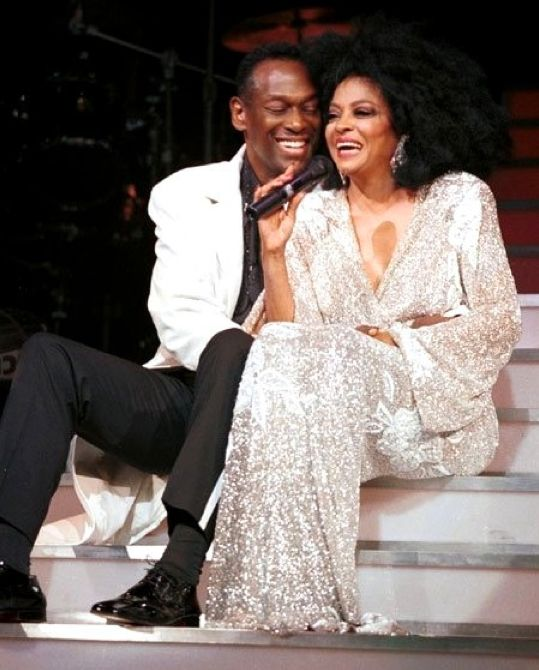 Diana Ross & Luther Vandross, NYC, July 6, 2000
