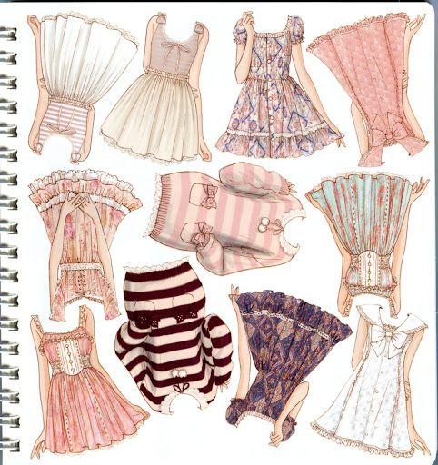Oshare Note Liz Lisa - Art by Naoki Watanabe - Mama Mia - Picasa Webalbum