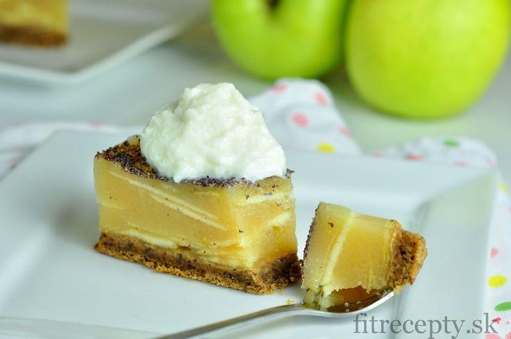 Jablkový želé koláč - FitRecepty