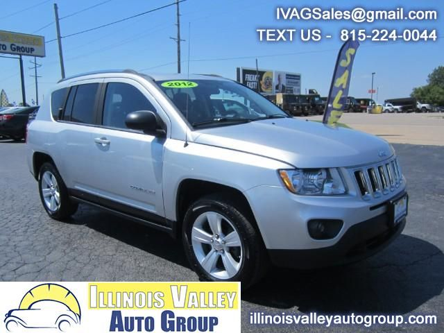 Used 2012 Jeep Compass Sport FWD for Sale in Peru IL 61354 Illinois Valley Auto Group
