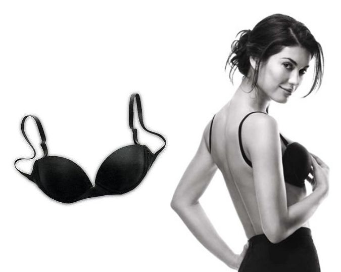 Backless Bra that's not adhesive.