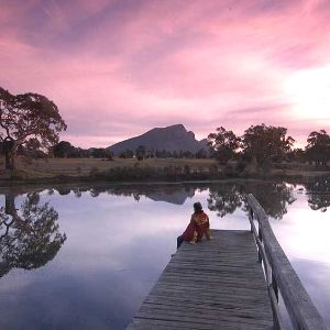 Grampians National Park, Australia. In Dunkeld, 65 km from Halls Gap. A stunning little town. In two weeks time they are opening a cute little French bakery. Jan 14