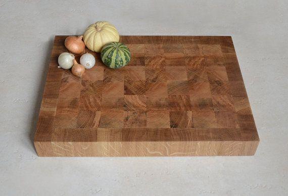 End grain Cutting Board  Handmade chopping board  by KubuHandmade