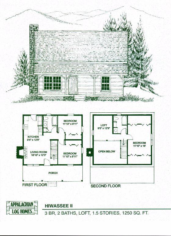 Hiwassee II 3 Bed 2 Bath 1 5 Stories 1250 sq ft