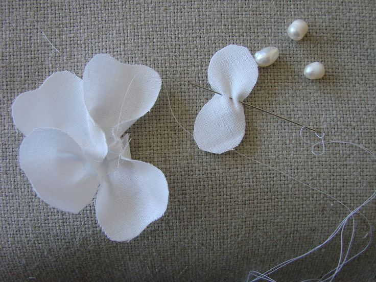 Magnolia fabric flower tutorial | Baby Sewing Patterns and More