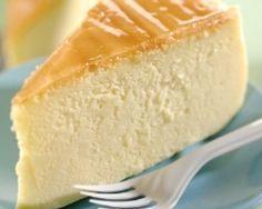 Cheese cake minceur 300 g de fromage blanc/ 2 œufs/ 40 g de sucre/ 1 c. à soupe de maïzena/ le jus d'1/2 citron