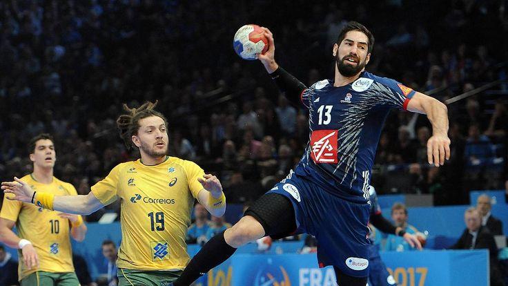 Sieg bei Auftakt der Handball-WM: Frankreich zeigt Klasse gegen Brasilien