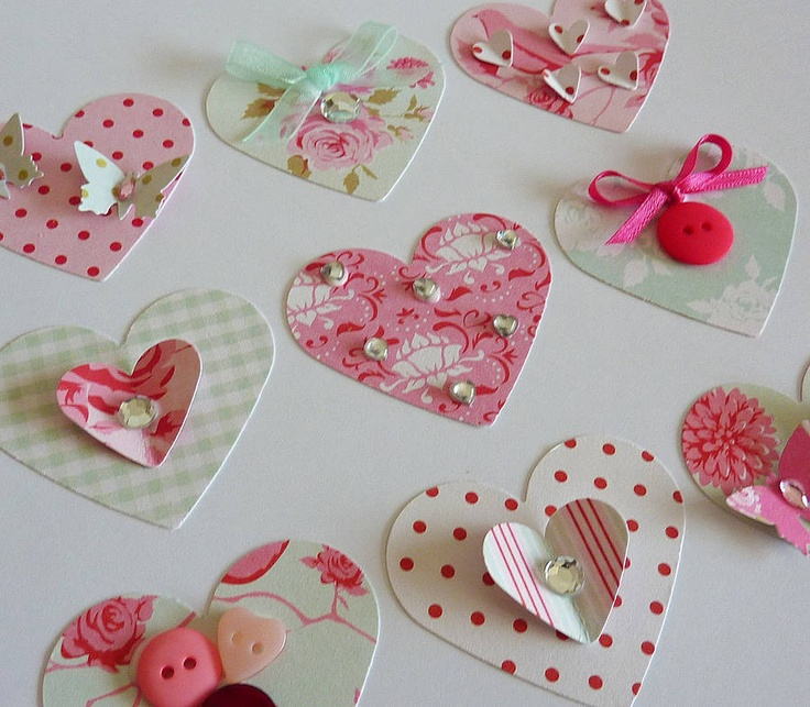 Decorated Hearts Picture