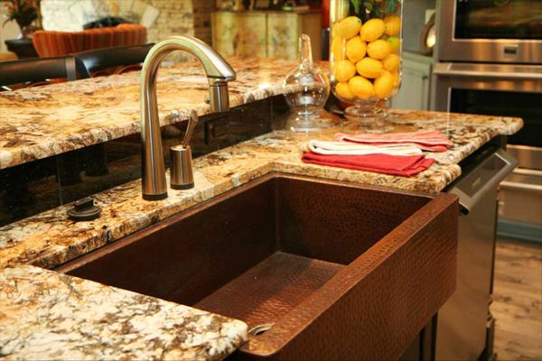 Delicatus Gold Granite Countertops 1641 Delicatus Gold