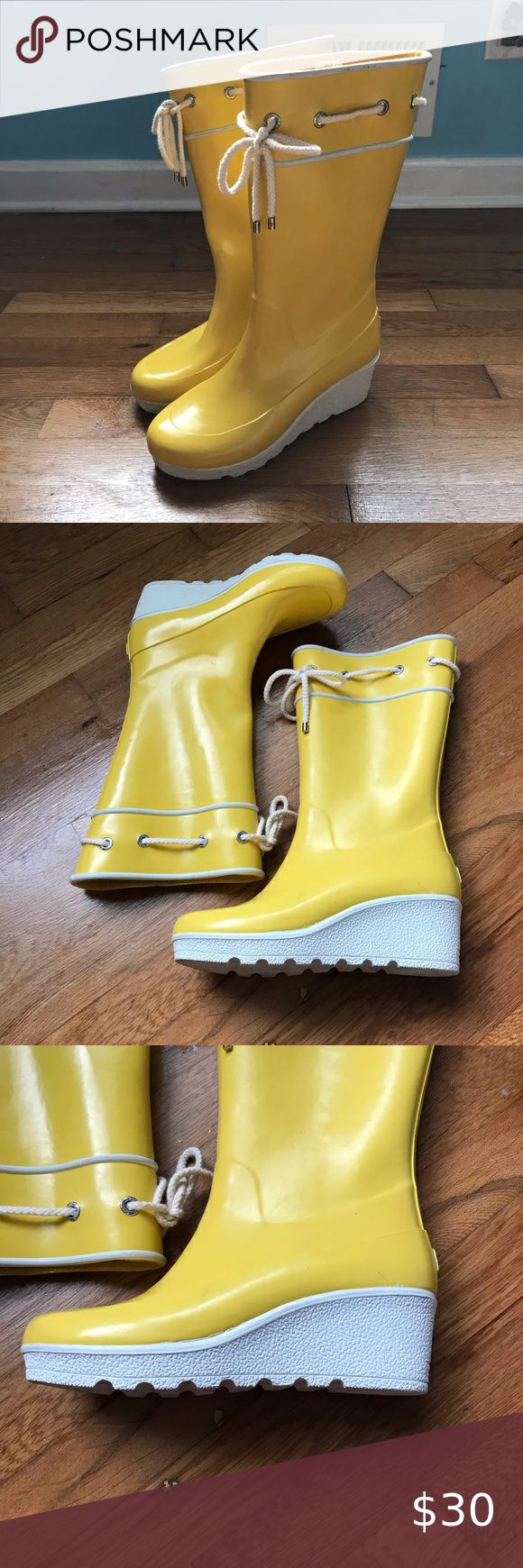 Bogs Sidney Lace Up Rubber Rain/Snow Boots | Rain and snow