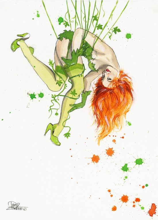 Poison Ivy by =Lora8