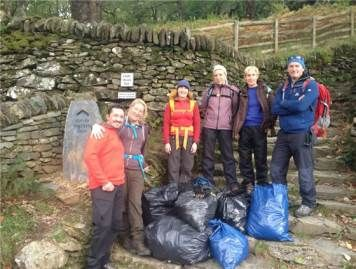 Mountain Training initiative for cleaning up hills, crags and popular outdoor areas. I was made aware of this initiative as I get monthly emails due to being a member whilst trying to achieve my ML, CWA and hopefully SPA next year. I think its great that people are getting out there to help clean up but at the same time, its a shame that they even have to. Its a place we all love, go often and should therefore respect it! I plan to get involved in one of these next year.