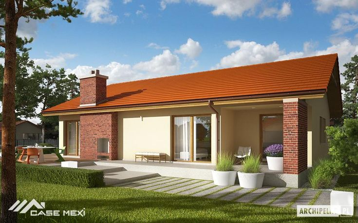 One story #house plans with impeccable design, with #modern or traditional elements, with ample space, large windows and brightness, which meet the desires and the qualities needed for a comfortable #home.
