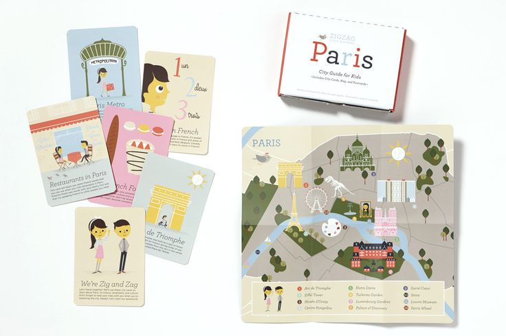 Paris travel guide for kids