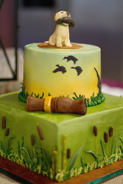 Duck Hunting Cake Decorating Kit : 1000+ ideas about Fishing Grooms Cake on Pinterest Groom ...