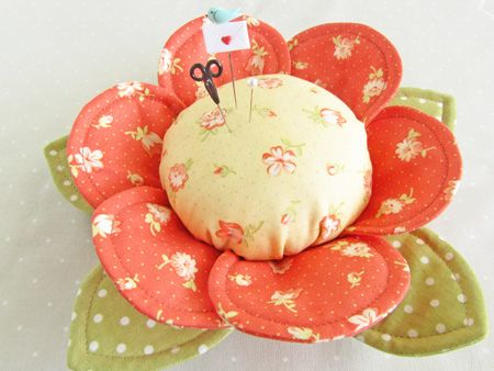 Pin Cushion Buttercups ~ by 'Pretty by Hand'