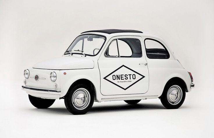 Onesto - wagenbelettering | by Skinn Branding Agency