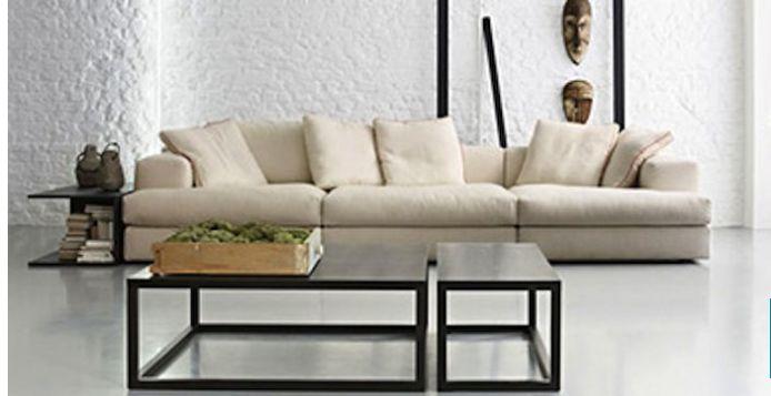 """italiaanse merk bank """"Cassina"""" model milou verkrijgbaar bij meijs wonen"""