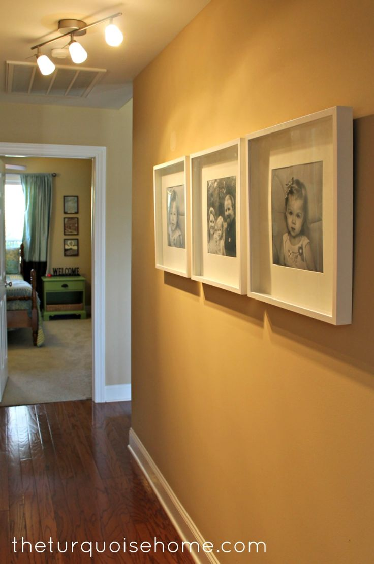 IKEA Ribba Frames {hallway update} Nice Frame maybe for your pilkington picture