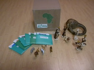 Discovery Days and Montessori Moments: Africa Continent Box!