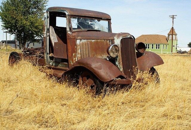 Abandoned Old Chevy Truck