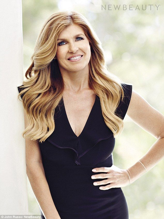 Fabulous 40s: Connie Britton, 48, wows as the cover story for the Summer/Fall issue of New Beauty