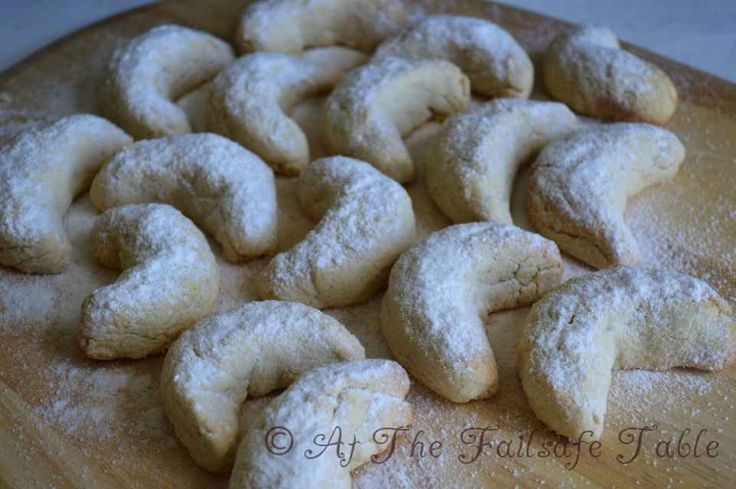 At The Failsafe Table - Cashew Crescent Biscuits