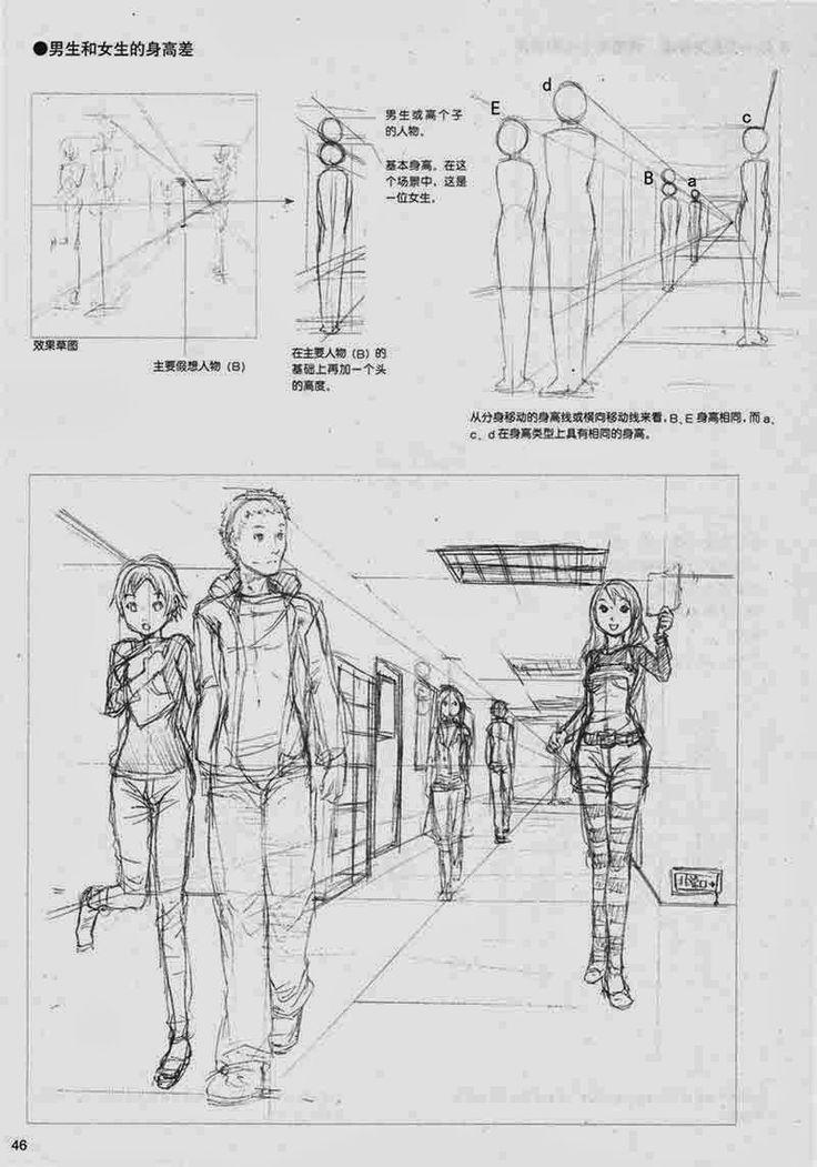 [DESCARGA] Dibujando personajes y ambientes en perspectiva.
