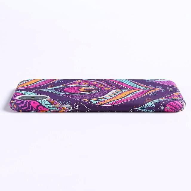 Featuring pretty patterns inspired by today's tribal trends, lush lotus flowers unfolding into bloom and purple paisley prints that hypnotize, this glow in the