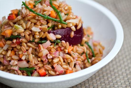 Spelt Salad...so healthy,so good!