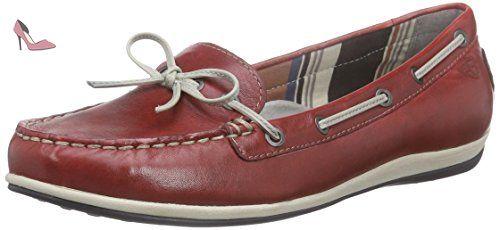 Tamaris 24600, Mocassins (loafers) femme - Rouge (chili 533), 37 EU - Chaussures tamaris (*Partner-Link)