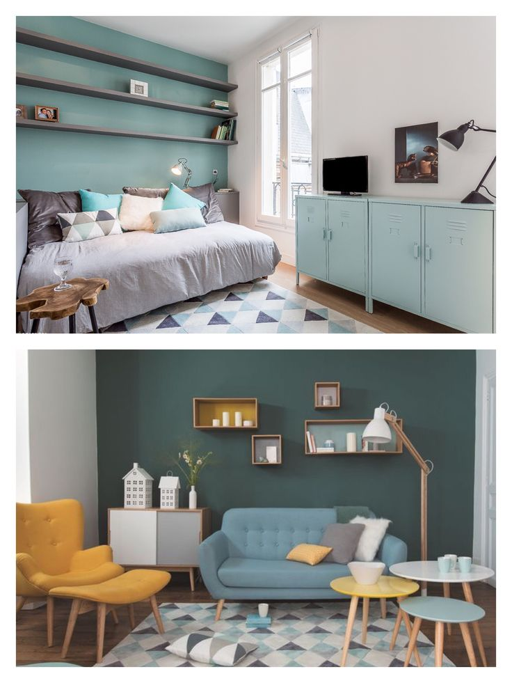 Via tinyhousemag.com   20 m2 studio in Paris renovated by interior designer Nancy Geernaert   Delphine Queme