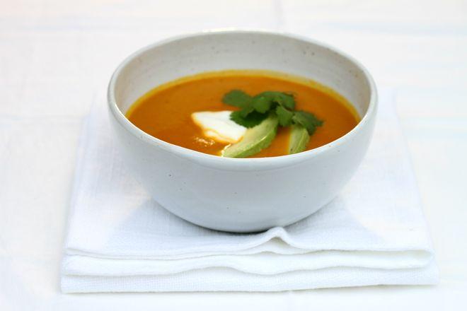 Potage aux carottes et à la coriandre - Nautilus Plus | Nautilus Plus