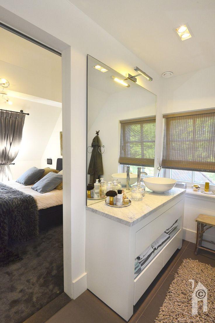 Landelijke én romantische huis. Badkamer