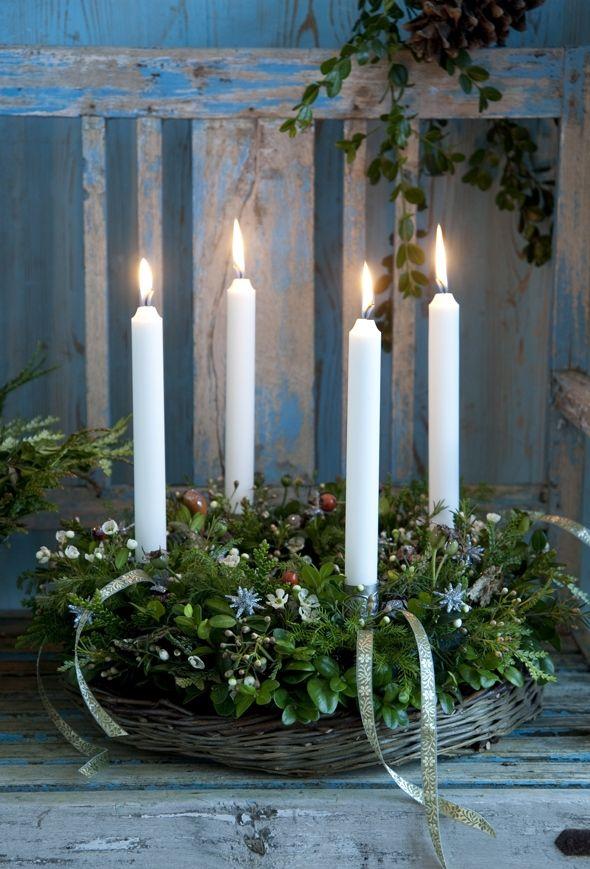 Smuk adventskrans
